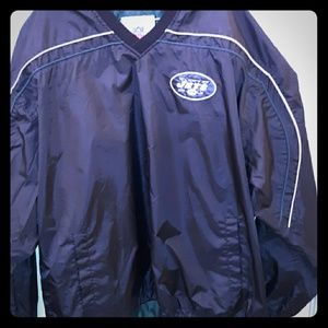 NFL vintage extra large over the head windbreaker
